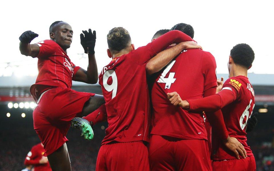 Отборът на Ливърпул вече има цели 11 точки преднина пред