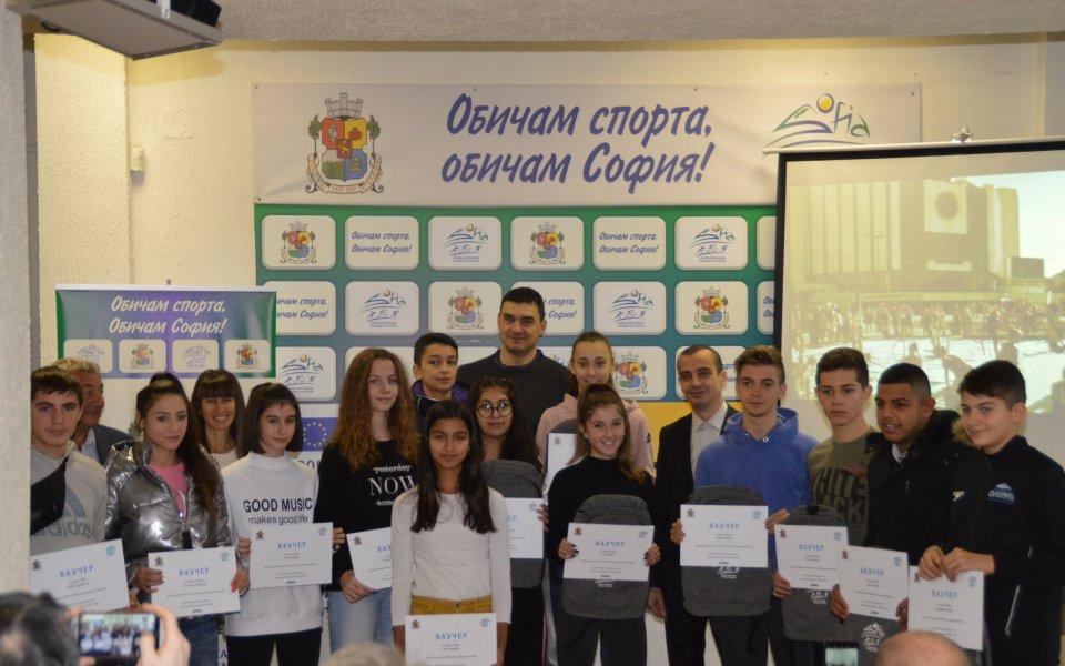 Владо Николов награди таланти
