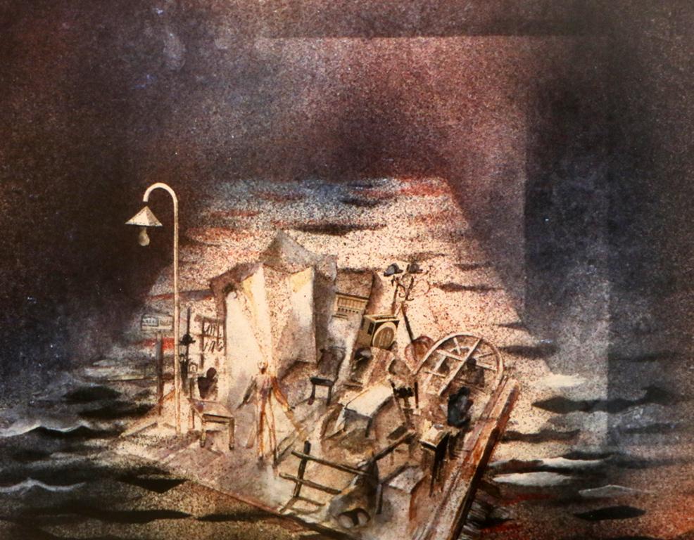 <p>&bdquo;Еквус&ldquo; 1 от Питър Шафър, реж. Симеон Димитров, ДТ &bdquo;Невена Коканова&ldquo;, Ямбол &ndash; сценография</p>
