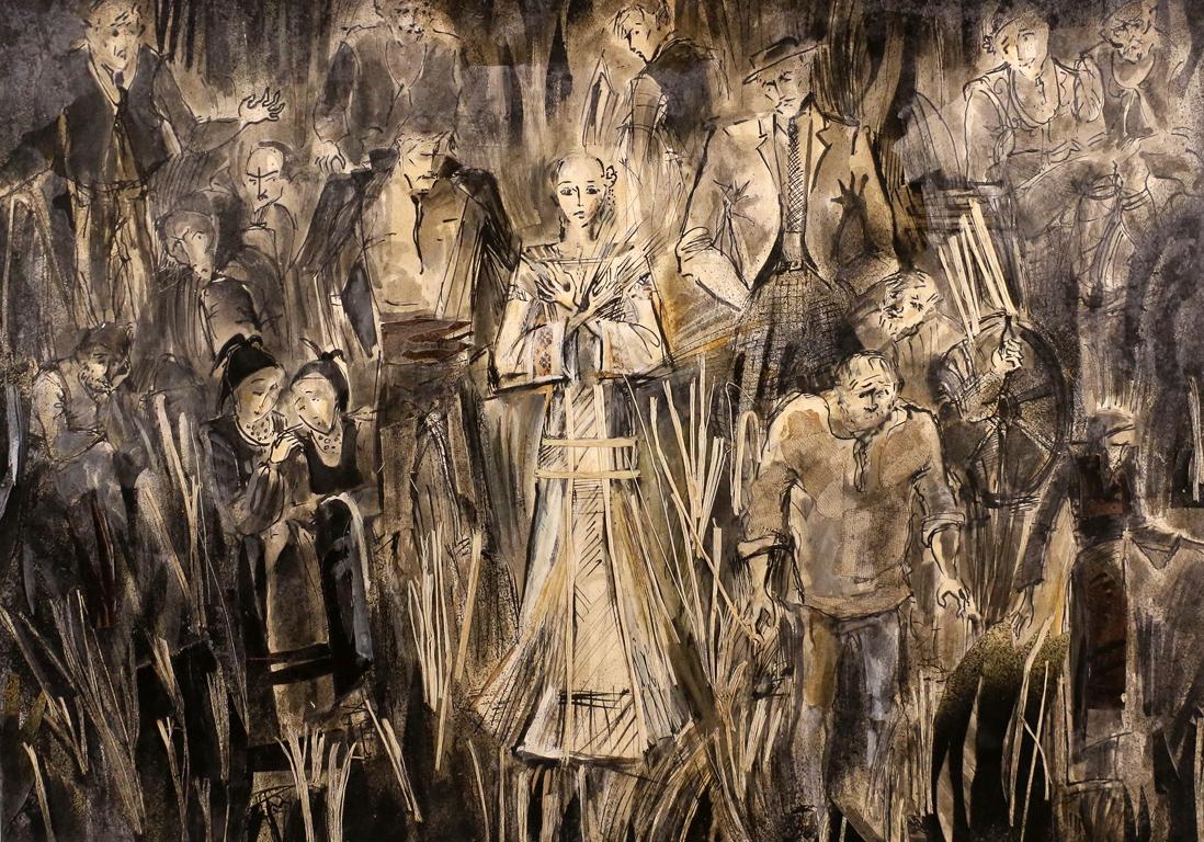 <p>&bdquo;Албена&ldquo; от Йордан Йовков, реж. Владимир Николов &ndash; сценография</p>