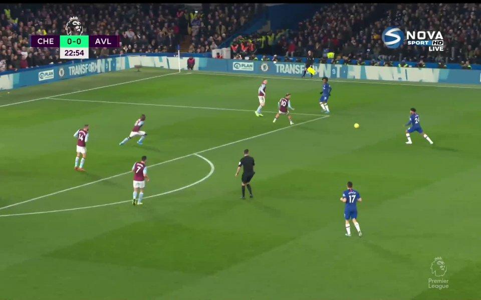 Вижте двата гола и всичко най-интересно от първото полувреме на