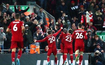 Шампионски разгром на Ливърпул прати Евертън в бездната