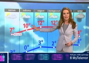 Прогноза за времето (05.12.2019 - централна емисия)