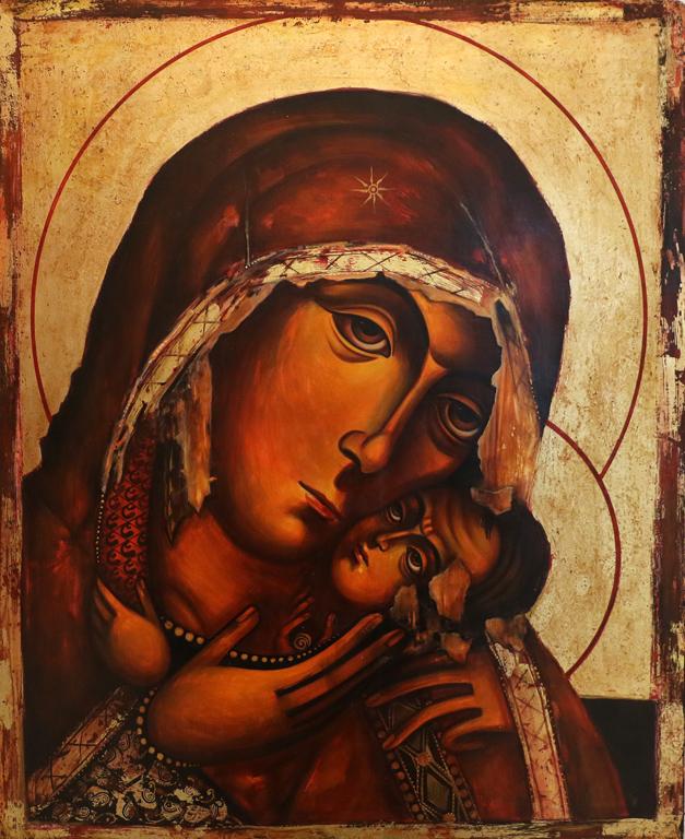 <p>Ралица Бурова &ndash; &bdquo;Бачковската Богородица&ldquo;</p>