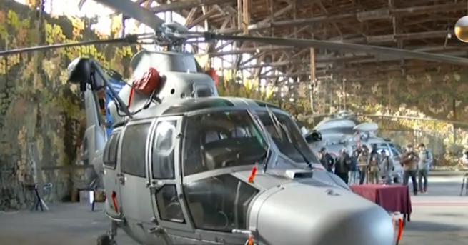България Нов хеликоптер за военните
