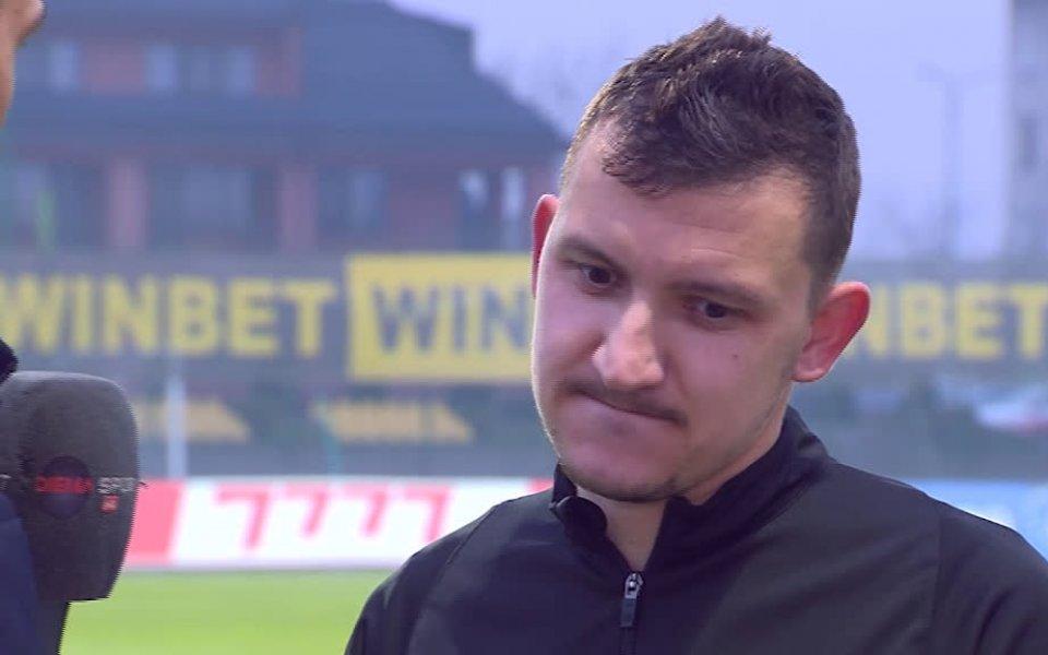 Футболистът на Ботев Пд Тодор Неделев беше избран за Играч