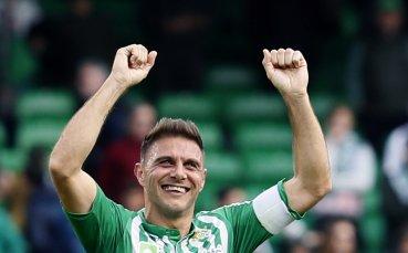 Хеттрик на 38-годишния Хоакин донесе победа за Бетис над Билбао