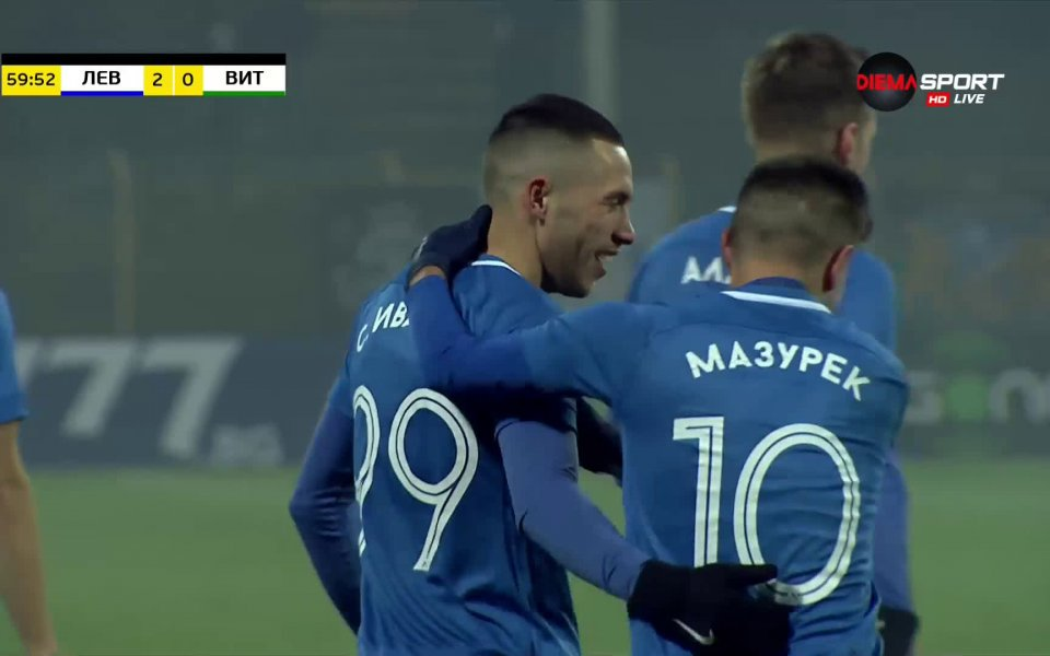 В 60-ата минута Станислав Иванов направи резултата 2:0 в полза