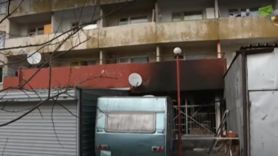 """Пожар в общежитие в """"Студентски град"""""""
