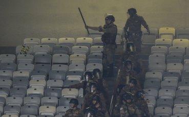 Велик бразилски тим изпадна за първи път и настана ад