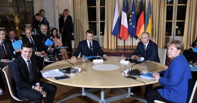 Свят Путин след срещите в Париж: Да, доволен съм Зеленски