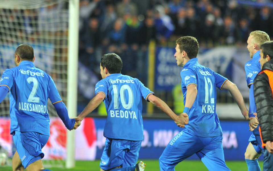 Безспорно най-интересният мач от 1/4-финалната фаза за Купата на България