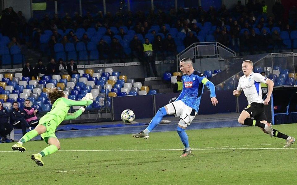 Маартен Вандевоорд стана най-младият вратар с участие в мач от