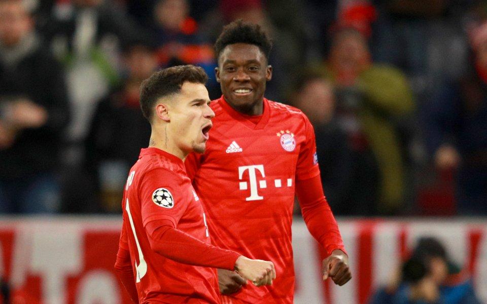Отборът на Байерн Мюнхен и Тотнъм играят при резултат 3:1в