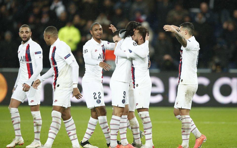 Отборът на Пари Сен Жермен постигна разгромна победа с 5:0