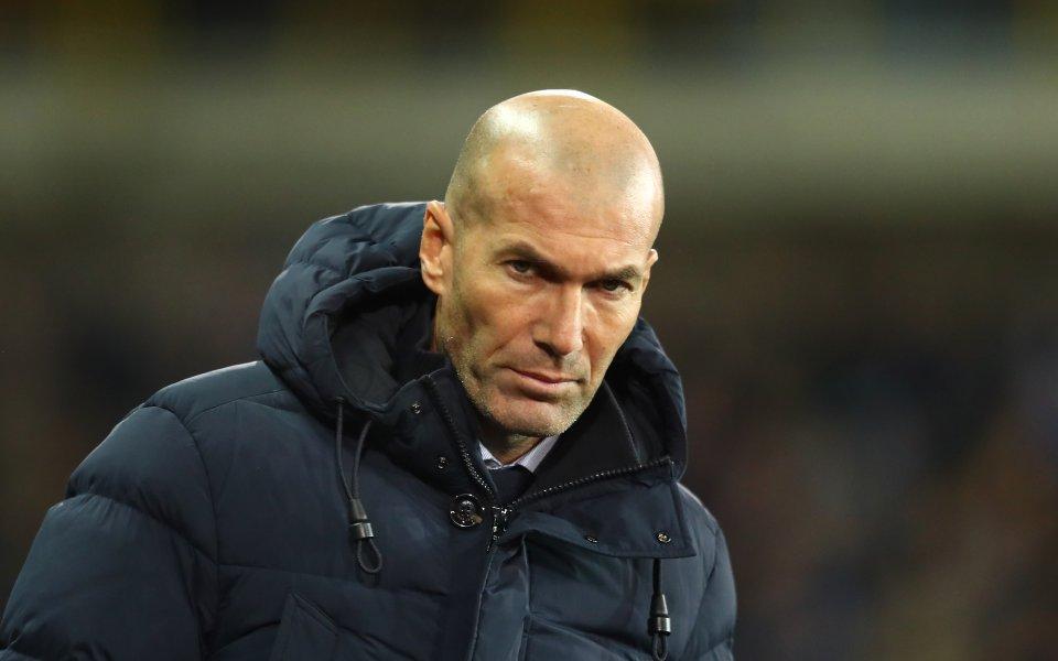 Треньорът на Реал Мадрид – Зинедин Зиданостана много доволен от