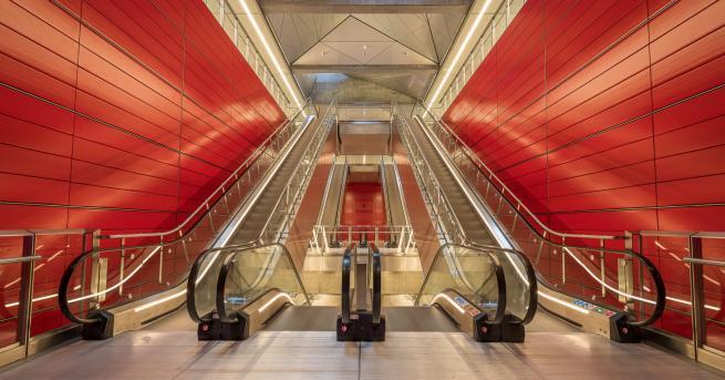 Любопитно Вижте новата линия на метрото в Копенхаген Линията има