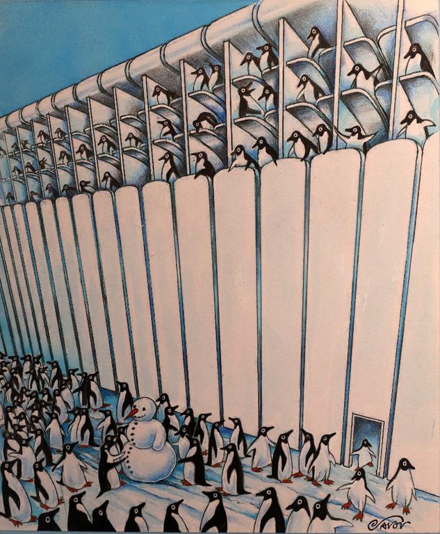 <p>Йовчо Савов Пингвини в радиатор</p>