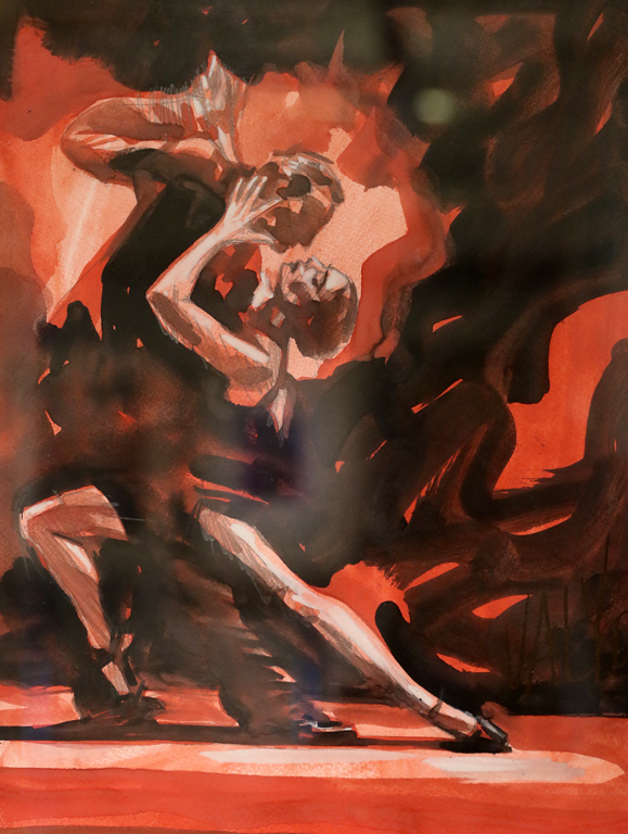 <p>Валентин Георгиев Танцуващи II</p>