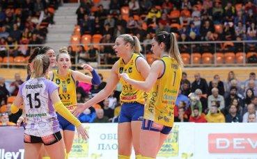 Ето кога се подновява волейболното първенство при жените