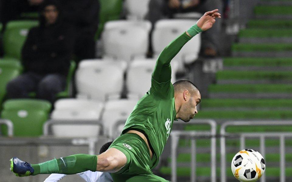 Защитникът на Лудогорец Георги Терзиев сподели след класирането на българския