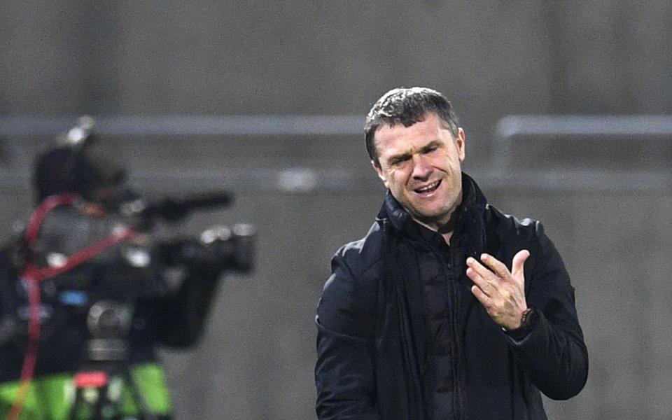Треньорът на Ференцварош Серхий Ребров бе доста гневен след равенството