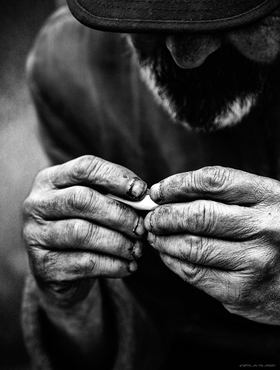 <p>Портрети на хора, останали без дом. Фотограф: Николай Миланов</p>