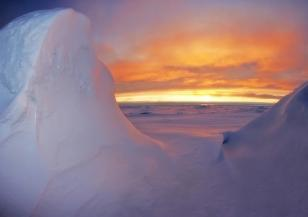 В Антарктида се намира най-ниската точка на сушата