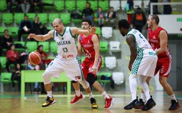 Балкан постигна десета победа в Националната баскетболна лига