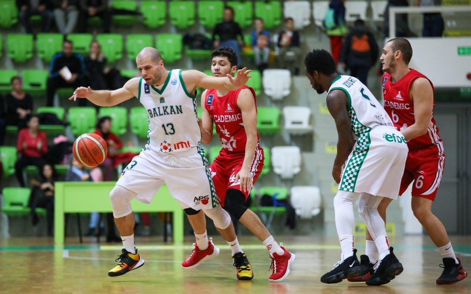 Шампионът в Националната баскетболна лига Балкан постигна десета победа от