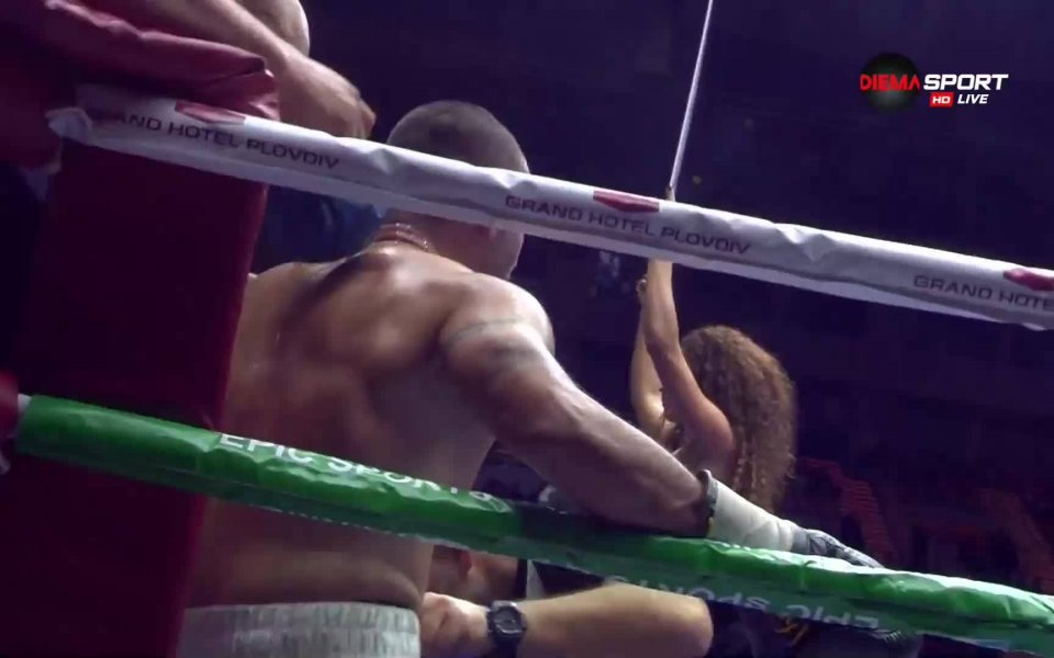 По време на мача между Спас Генов и Леван Шоня