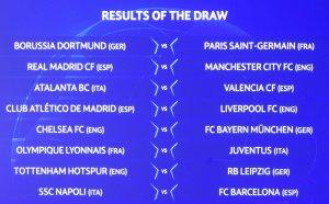 Уникални сблъсъци на 1/8-финалите в Шампионска лига!