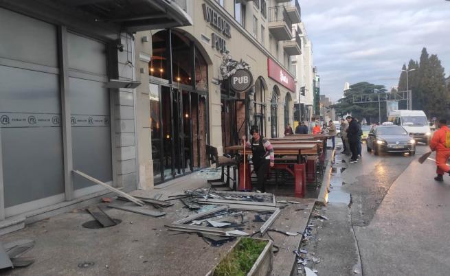 Взрив до българското посолство в Подгорица