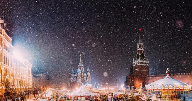 Коледа Москва - истинска зимна приказка по празниците (СНИМКИ) Украсата