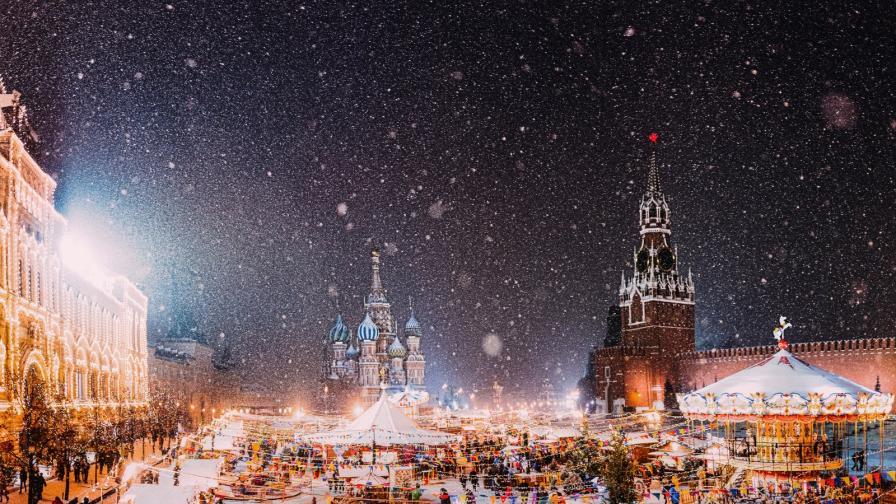 <p><strong>Москва</strong> - истинска зимна приказка по празниците (СНИМКИ)</p>