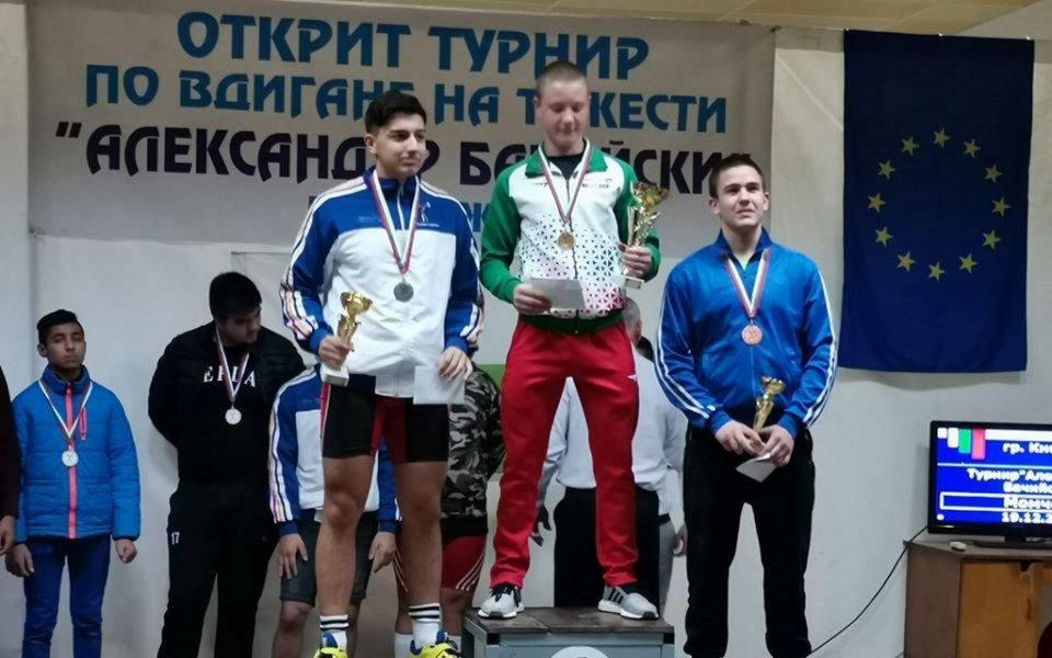 """Турнирът по вдигане на тежести в Кнежа """"Александър Бачийски"""" събра"""