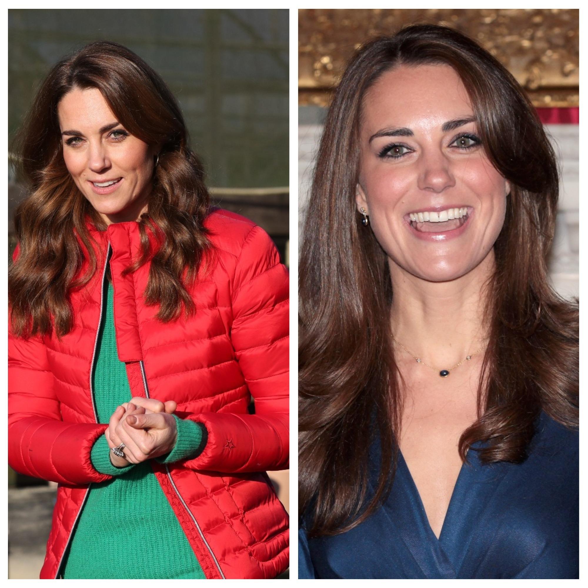 <p><strong>Кейт Мидълтън</strong></p>  <p>Кейт е родена през 1982 г. в графство Бъркшър, Англия. Дъщеря е на собственици на голяма фирма за кетъринг.</p>  <p>Запознава се с принц Уилям в университета и години наред в медиите се твърди, че имат връзка.</p>  <p>През 2011 година се омъжва за Уилям и става херцогиня на Кеймбридж.</p>