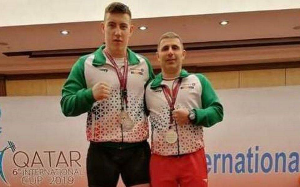 Христо Христов с приза за втория най-добър щангист на турнира в Доха