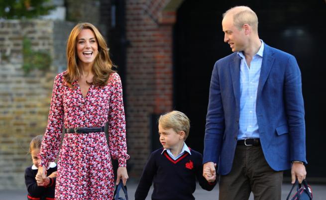 Принц Уилям и децата трогнаха света със снимка