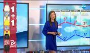 Прогноза за времето (29.12.2019 - централна емисия)