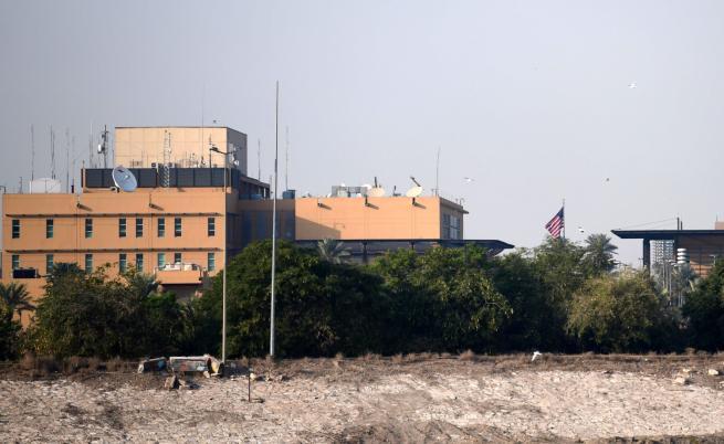 Ракети срещу военна база на САЩ, взрив до посолството в Багдад