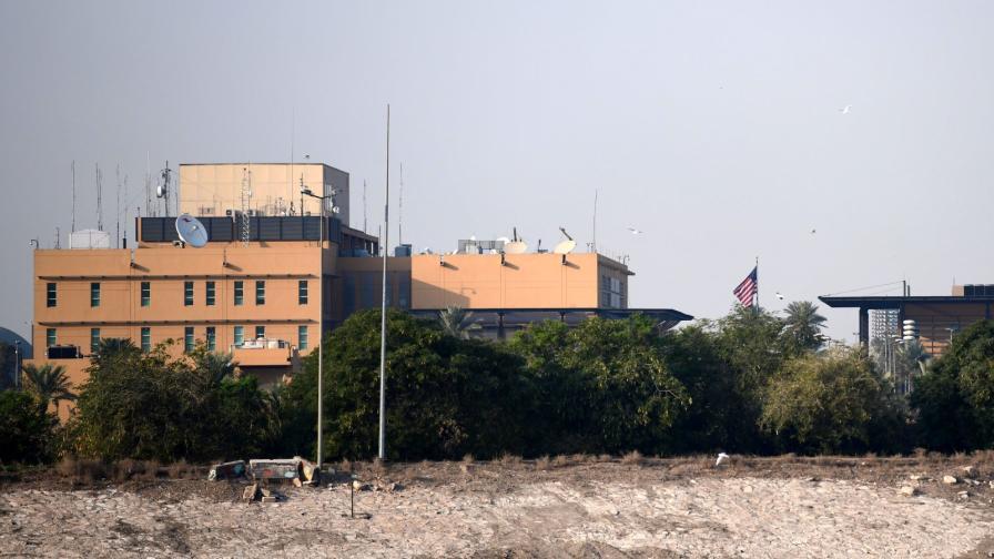 Американското посолство в Багдад