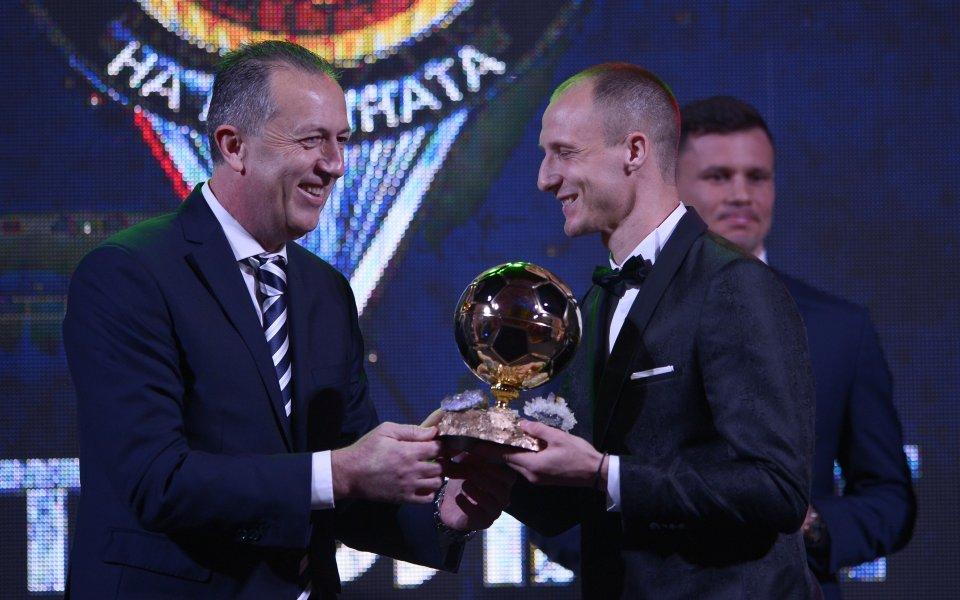 Звездата на Лудогорец Антон Недялков поздрави победителя за Футболист на