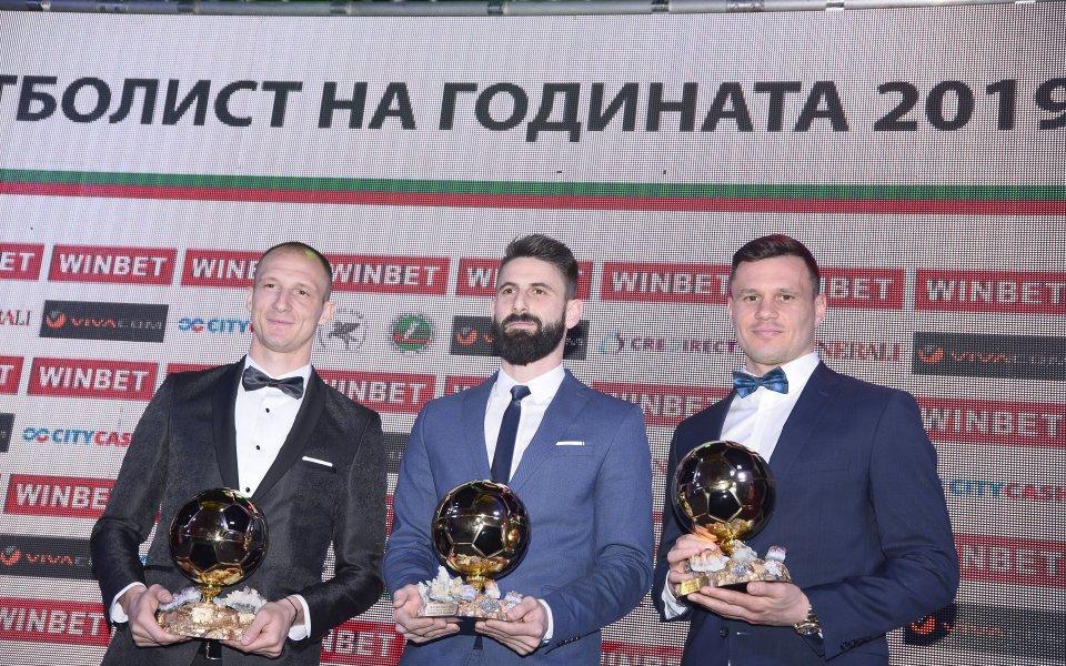 Защитникът на Лудогорец Антон Недялков бе обявен за най-скъпият играч