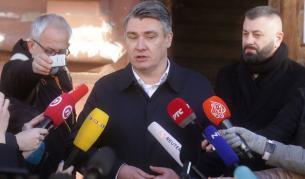 Хърватският президент критикува България