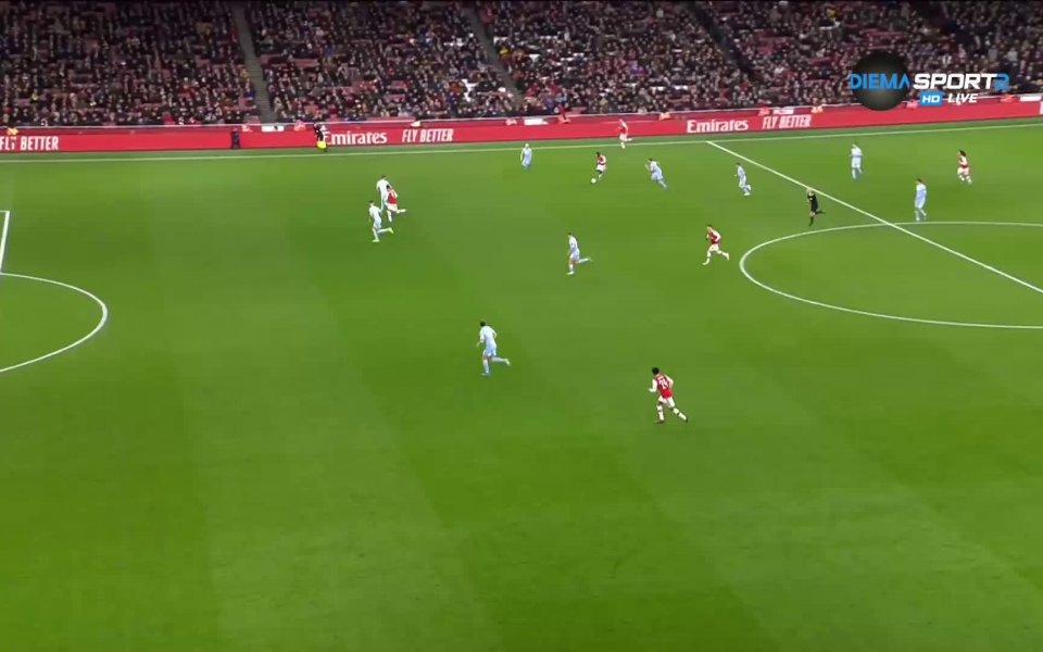 Рийс Нелсън изведе домакините напред в резултата в 55-ата минута