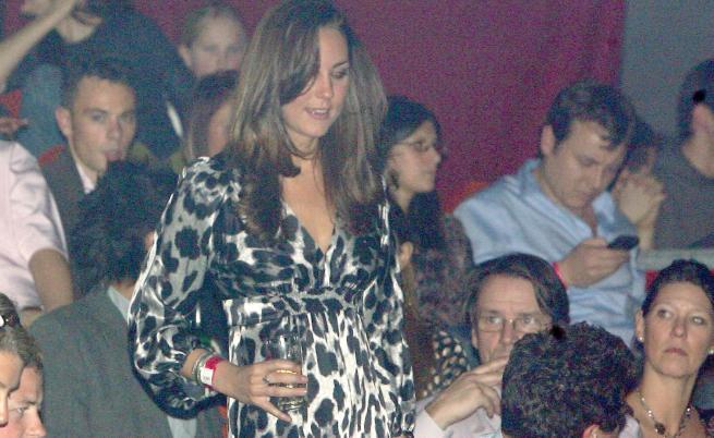 Как изглеждаше Кейт, когато ходеше по щури купони
