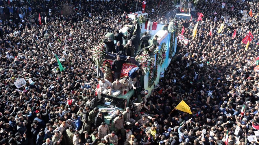Погребението на Касем Солеймани