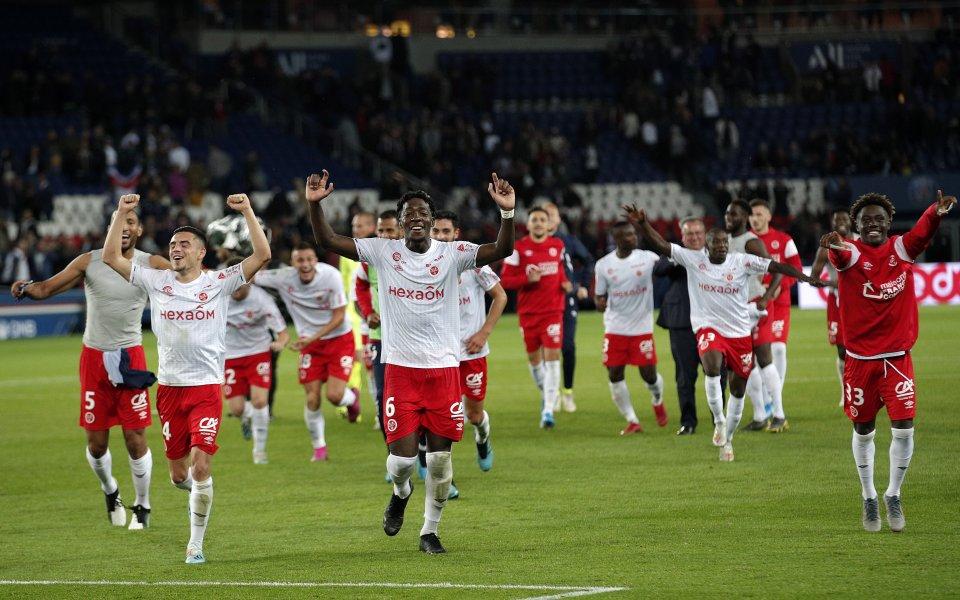 Реймс изхвърли носителя на Купата на лигата във Франция след дузпи