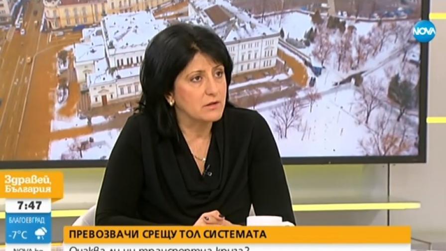 Магдалена Милтенова, Конфедерацията на автобусните превозвачи